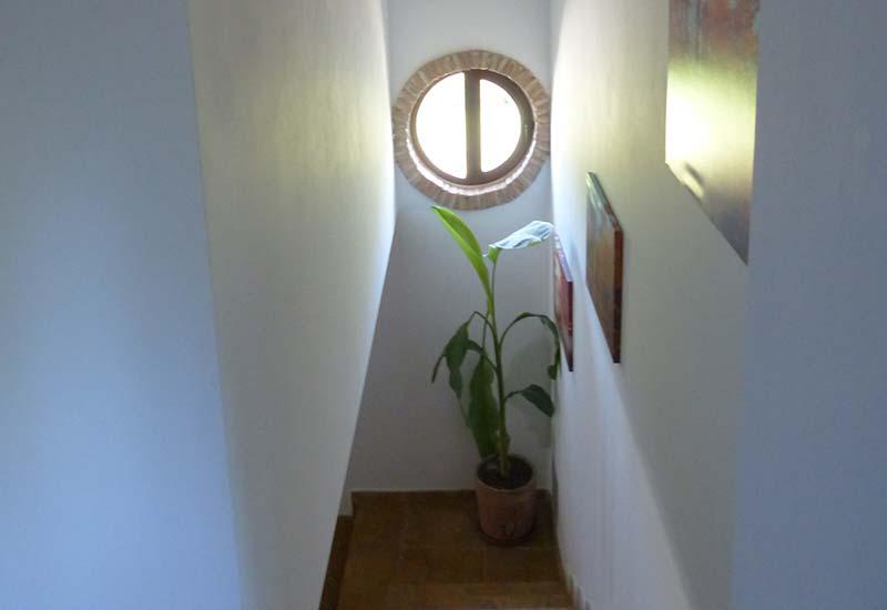 Acceso a la Primera Planta - Casa El Edén de Cazorla