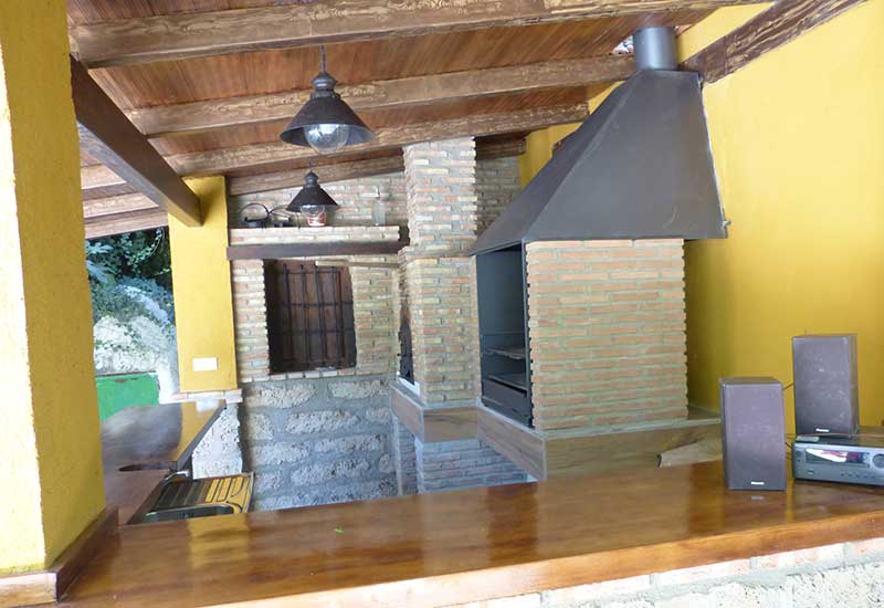 Porche Exterior - Casa El Edén de Cazorla
