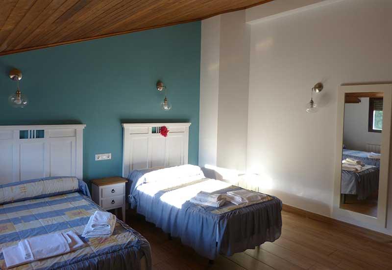 Cuarto Dormitorio - Casa El Edén de Cazorla